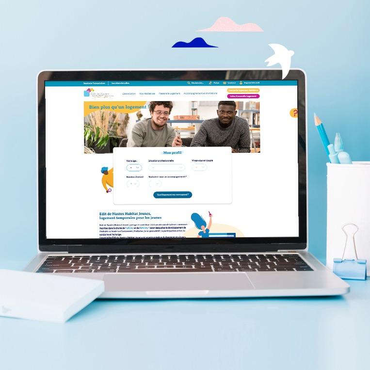 Création du site web Edit de Nantes