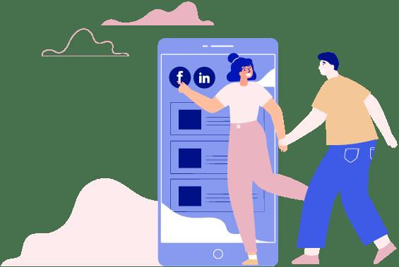 Gestion et animation des réseaux sociaux Kalelia