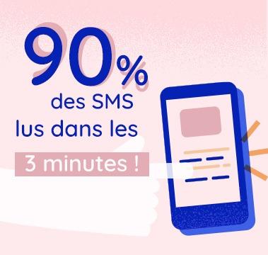 Campagne publicitaire par SMS