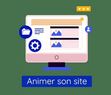 Formation digitale : animer son site web